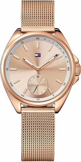 Relógio Tommy Hilfiger Damenuhr Feminino Aço Rosé - 1781756