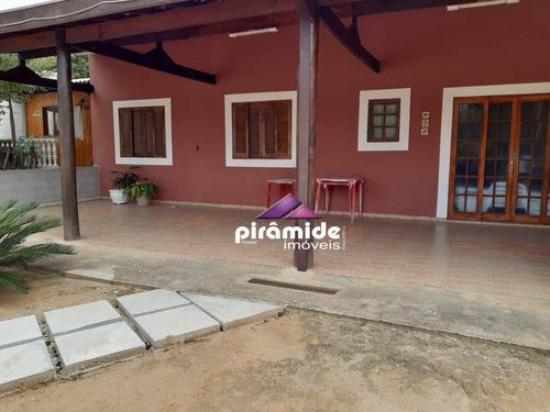 Chácara Com 2 Dormitórios À Venda, 1000 M² Por R$ 420.000,00 - Loteamento Jomabe Ii - Caçapava/sp - Ch0100