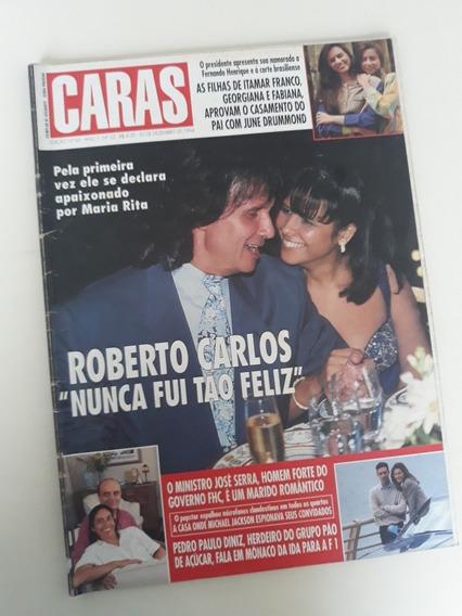Caras 60 Roberto Carlos Angélica Michael Jackson Galisteu