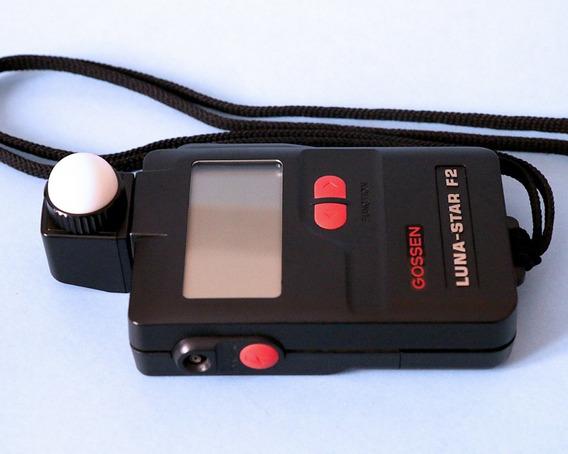 Flash Meter E Fotômetro Gossen Luna Star F2 Semi-novo Excel.