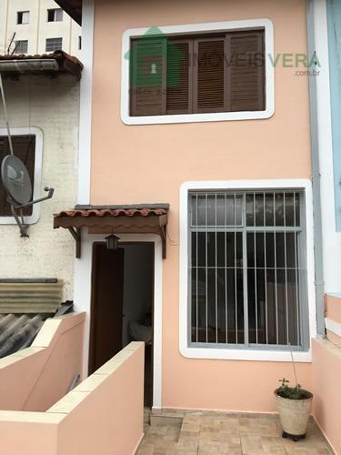 Sobrado Residencial À Venda, Jardim Monte Alegre, Taboão Da Serra. - So0100