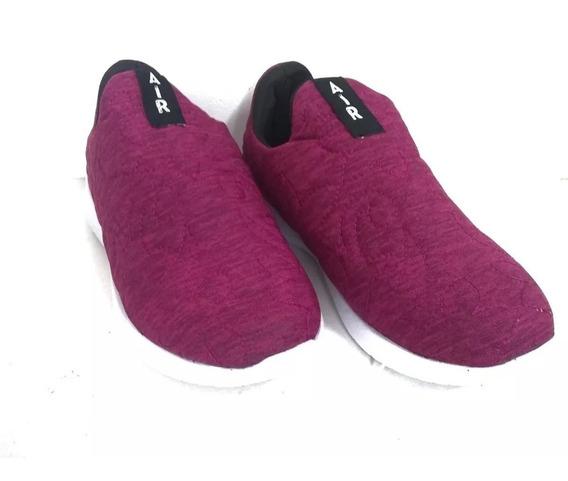 Zapatillas Mujer Deportivas Sin Cordones Base Goma Eva