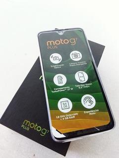 Motorola Moto G7 Plus Zero 64gb 4gb Ram Pra Vender Logo