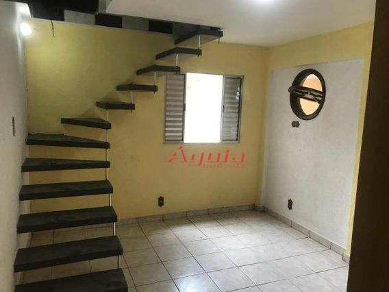 Casa Com 2 Dormitórios À Venda, 128 M² Por R$ 390.000 - Parque Novo Oratório - Santo André/sp - Ca0533