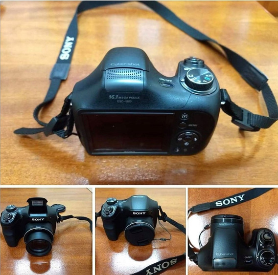 Máquina Fotográfica Semi-profissional Sony- Dsc H100