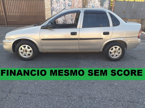 Gm Corsa Sedan 1.0 Financiamento Com Score Baixo