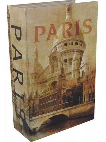Caja De Seguridad Tipo Libro Paris 9 Pulgadas Silverline