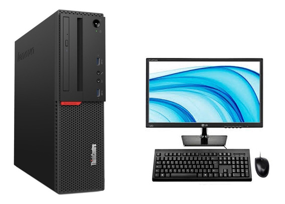 Cpu + Monitor Lenovo M700 I5 6g 4gb 1tb Hd - Novo