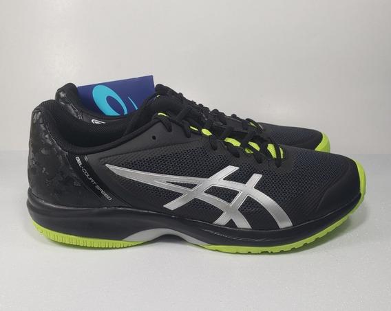 Tênis Asics Gel Court Speed Masc Pr/vrd- Jogar Tennis Saibro