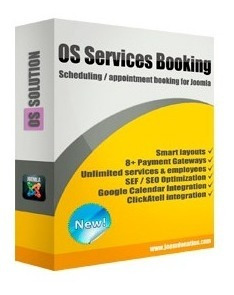 Os Services Booking - Joomla Extension