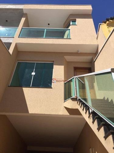 Sobrado Com 3 Dormitórios, 3 Suites À Venda, 232 M² Por R$ 950.000 - Vila Marieta - São Paulo/sp - So2494