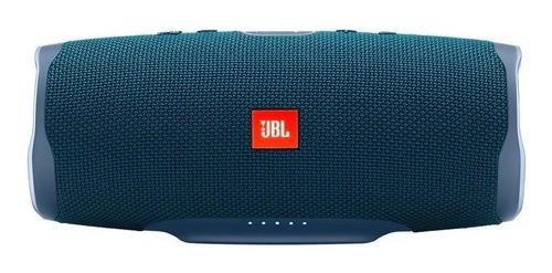 Caixa de som JBL Charge 4 portátil com bluetooth  blue