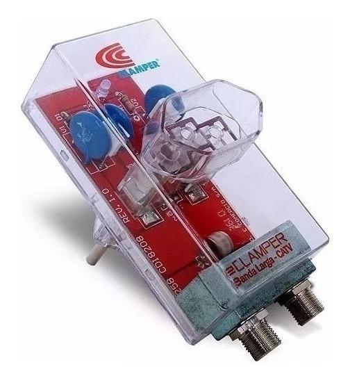 Protetor Antiraios Clamper Energia Cabotv Fretegrátis