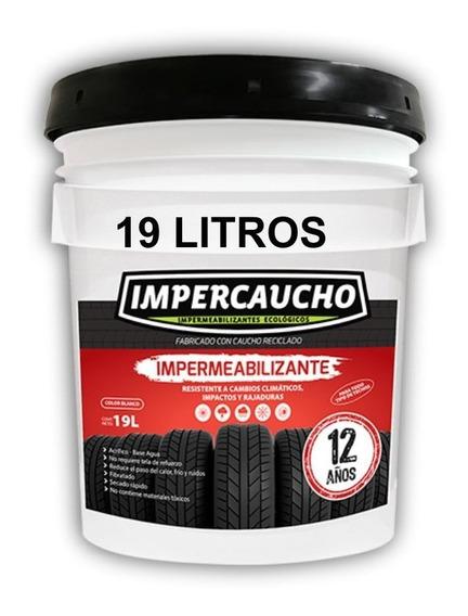 Impermeabilizante Impercaucho 19l 12 Años