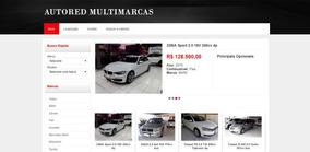 Auto Red - Site Para Loja De Veículos E Concessionárias