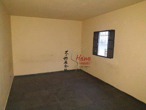 Casa Com 1 Dormitório Para Alugar, 60 M² Por R$ 600,00/mês - Jaraguá - São Paulo/sp - Ca1237