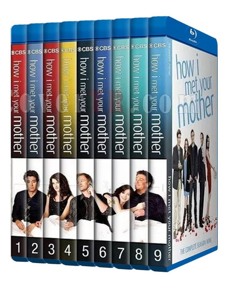 Como Conoci A Tu Madre How I Met Your Mother Serie Bluray Hd
