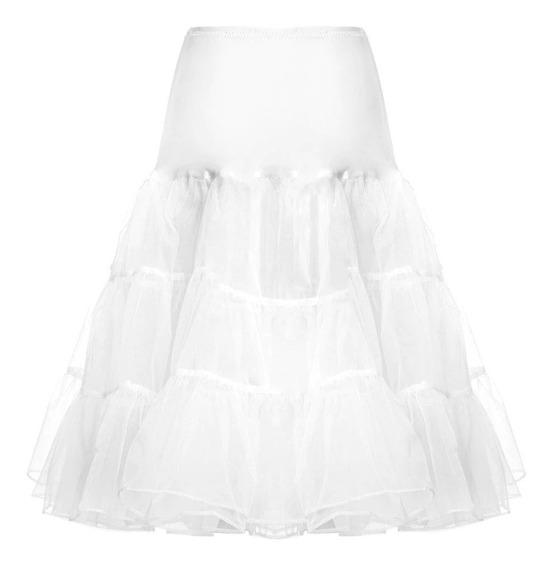 Crinolina Tutú Puff Para Falda O Vestido Vintage De Epoca