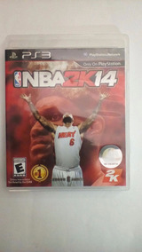 Jogo Nba 2k 14 Playstation 3 Seminovo