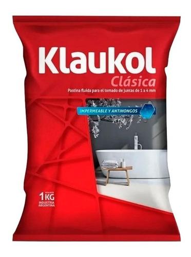 Imagen 1 de 3 de Pastina Normal Fluida Impermeable Antihongo (1 Kg) Klaukol