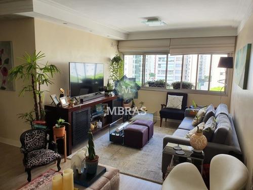Belíssimo E Harmonioso Apartamento Em Bairro Nobre De São Paulo. - Mb10261