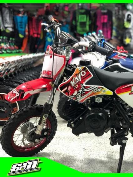 Moto Cross 50cc Kayo Niños A Gasolina