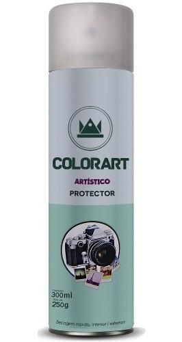 Imagem 1 de 3 de 1 Verniz  Colorart Protector Brilhante Fotos Gravuras