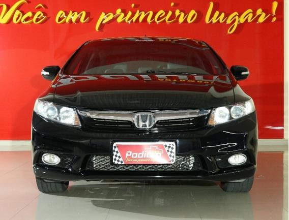 Honda Civic Lxr 2.0 Flex Automático | Completo + Couro