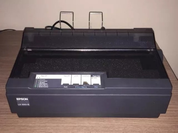Impressora Matricial Epson Lx 300+ Preta Frete Gratis