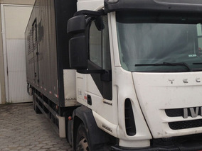 Iveco Tector 240e25 Truck 6x2 Ano 2011/2012 Baú Truck