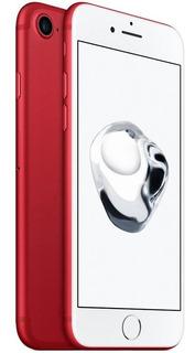 iPhone 7 128 Gb Vermelho 4k Nota Seminovo Vitrine Cores Nf-e