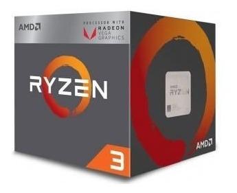 Processador Amd Ryzen 3 2200g Wraith Cooler Quad-core 3.5ghz