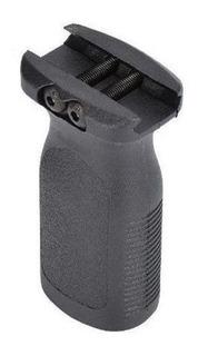 Front Grip Vertical P/ Trilho 20 Ou 22mm T4 Armas De Fogo