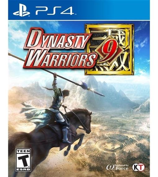 Dynasty Warriors 9 - Ps4 Mídia Física Lacrado