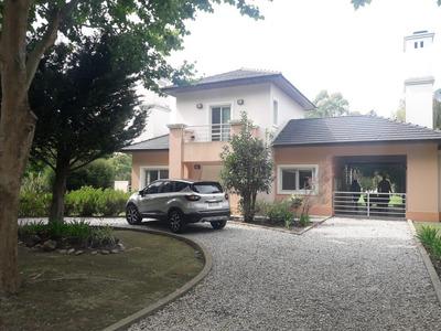 Casa 3 Dorm Con Salida A La Laguna Privada - Haras Del Sur