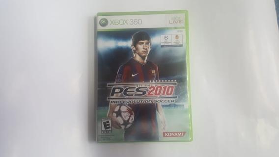 Pro Evolution Soccer 2010 - Pes 10 - Xbox 360 - Original