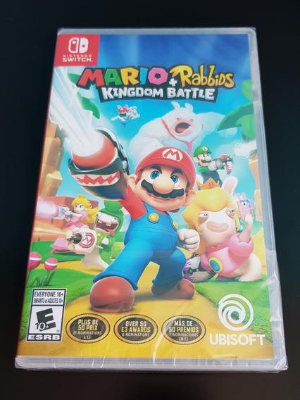 Mario + Rabbids Kingdom Battle Para Switch. Nuevo Y Sellado.