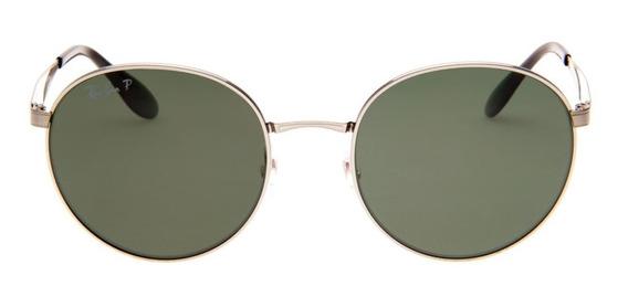 Óculos De Sol Ray Ban Redondo Uni Sexo