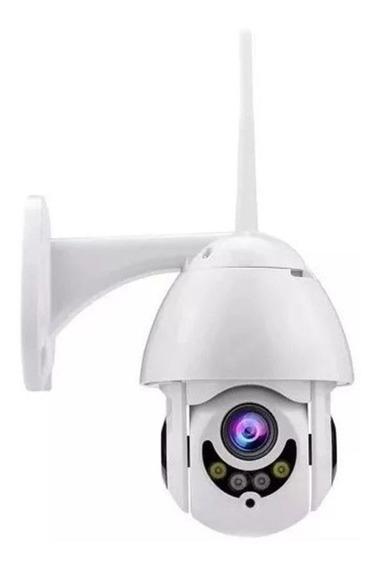 Camera Rotativa Ip Wifi Speed Dome Hd Segurança Resiste Agua
