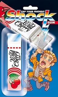 Paquete Joker Shock Wild Cherry Gum Broma Impactante De 4 Pu