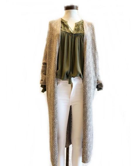 Tapado Saco Sweater Mujer Lana Talles Grandes Premiun