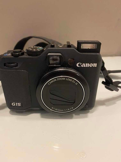 Máquina Fotográfica Canon Powershot G15