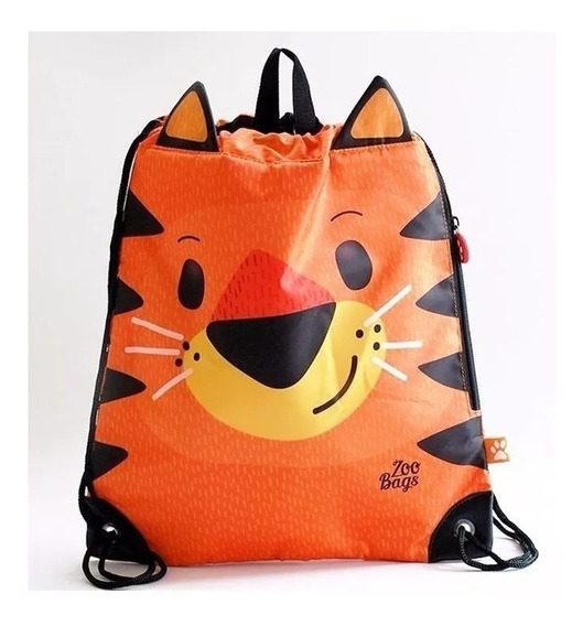 Bolso Infantil Zoo Bags Animales 38x30cm Baby Shopping