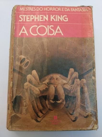 Livro A Coisa Stephen King Mestre Do Horror E Da Fantasia
