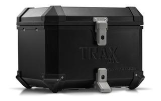 Kit Top Case Moto Sw Motech Ion Negro C/plato Base Adaptador