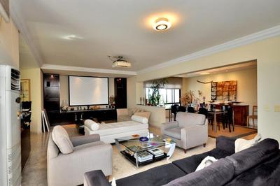 Apartamento Em Paraíso Do Morumbi, São Paulo/sp De 336m² 4 Quartos À Venda Por R$ 2.300.000,00 - Ap195558