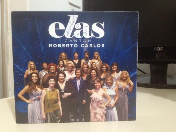 Cd - Roberto Carlos - Elas Cantam Roberto Carlos - Cd Duplo