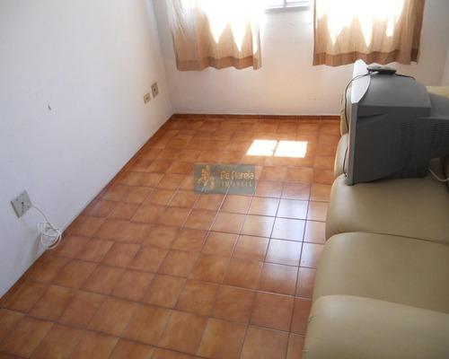 Imagem 1 de 13 de Apartamento Com 1 Dormitório À Venda, 40 M² Por R$ 180.000 - R1f415a - Canto Do Forte - Praia Grande/sp - Ap0051