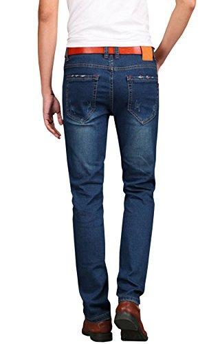 Hengao Pantalones Vaqueros Elasticos Para Hombre Mercado Libre