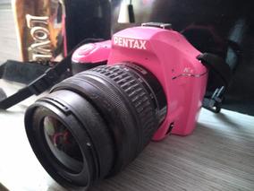 Camera Profissional Pentax K-x Rosa